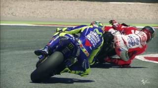 2017 #CatalanGP - Yamaha in action