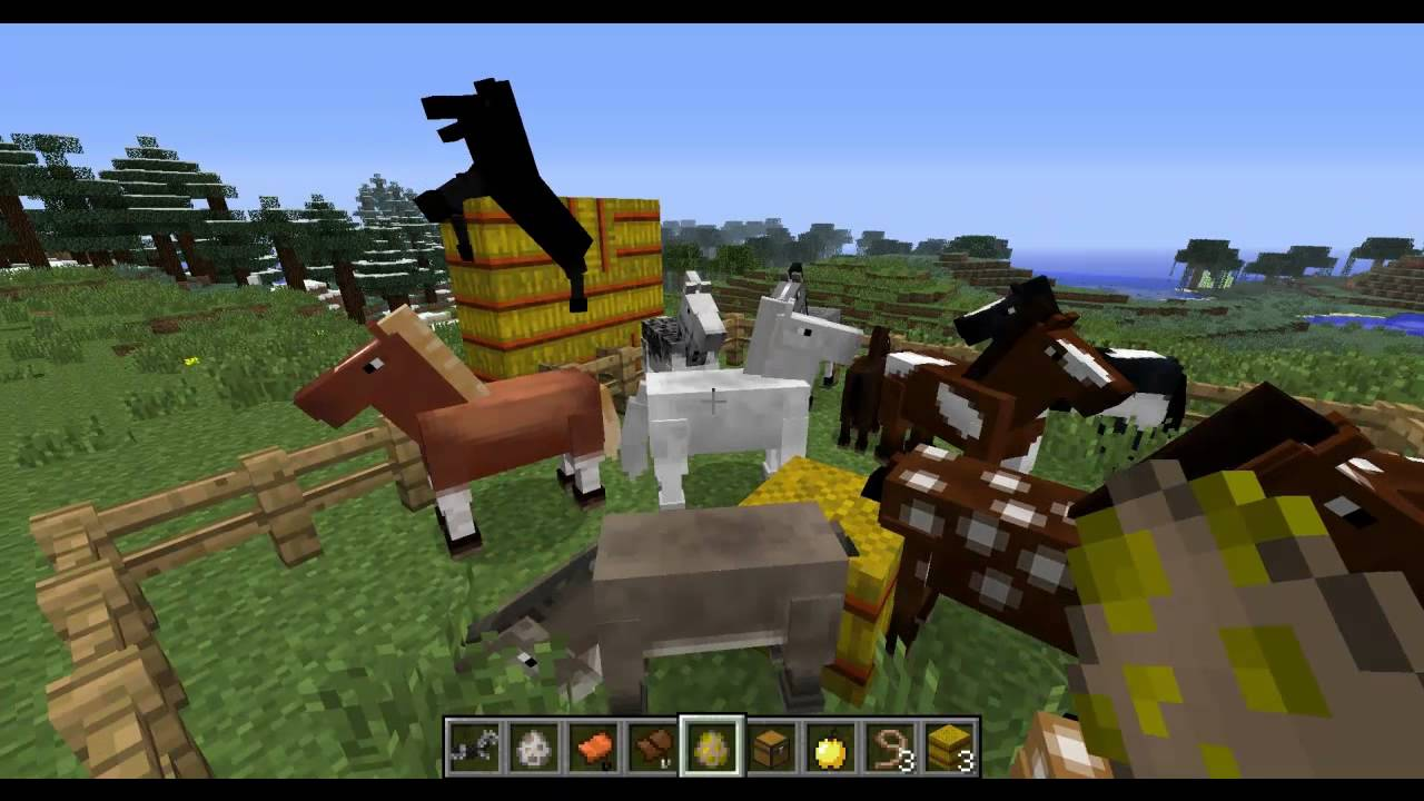 How do you mate horses in minecraft 1.6.2