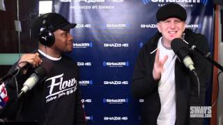 Hip Hop-Head & Director, Michael Rappaport attempts freestyle on Sway in the Morning