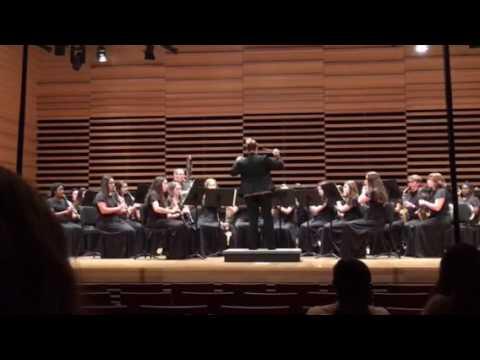 The Lark in the Clear Air - AHS Wind Ensemble 2017 MPA