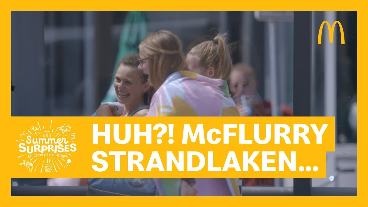 One Direction Strandlaken.Summer Surprises Mcflurry Strandlaken Mcdonald S