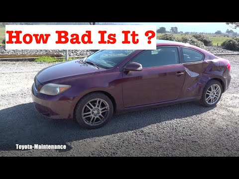 Wrecked Scion TC - Can I Fix It ?