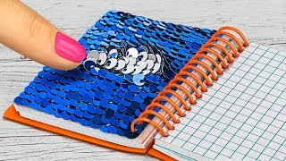 15 DIY Miniature School Supplies That Work / Mini Anti Stress School Supplies