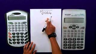 Powers & Roots (Scientific Calculator)(Review of Powers & Roots using a Scientific Calculator., 2011-09-17T17:11:20.000Z)