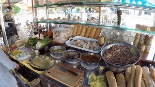 CAMBODIAN Street Food - Khmer Sandwich, Num Pang 2018