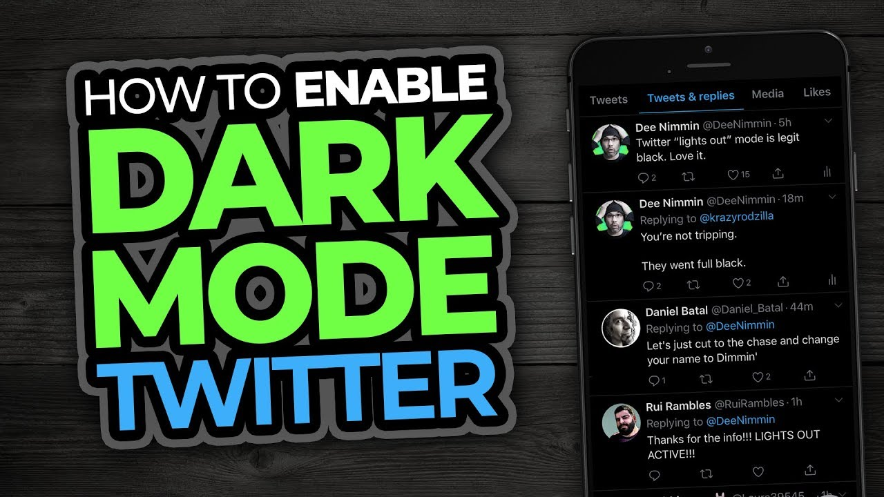 How To Enable DARK MODE on TWITTER | New Black Night Theme!