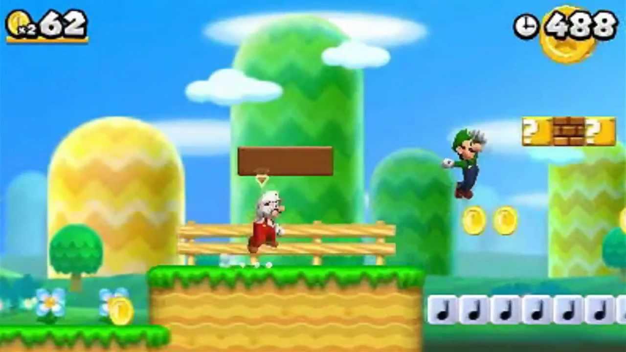 Multiplayer new super mario bros. 2 for nintendo 3ds.
