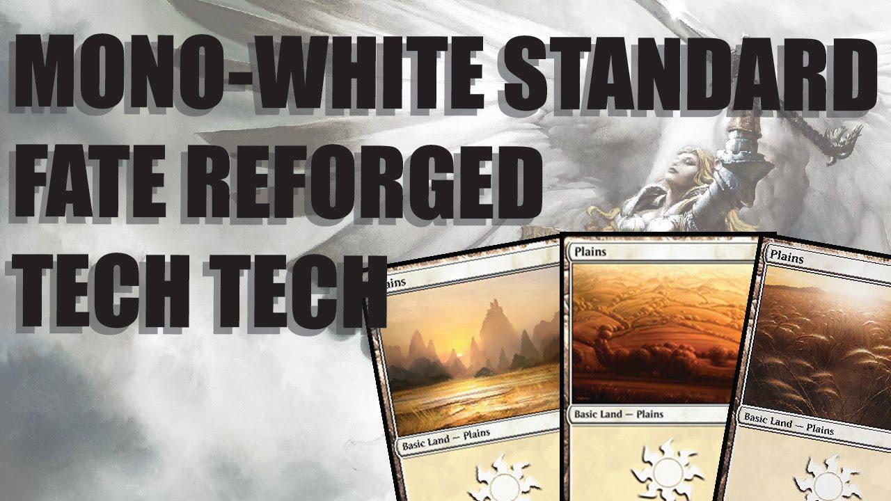 Mono-White Standard Fate Reforged Deck Tech! - YouTube