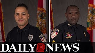 One Florida police officer shot dead and Five others are wounded thumbnail