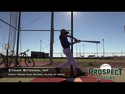 Ethan Sitzman Prospect Video, Inf, Wheat Ridge High School Class of 2020