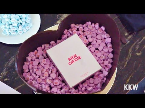 KKW Fragrance Chocolate Heart Reveal with Chef Chris Ford