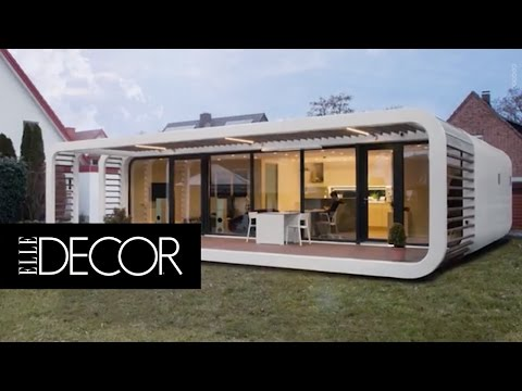These Sleek Prefabs Come With Smart Home Features | ELLE Décor