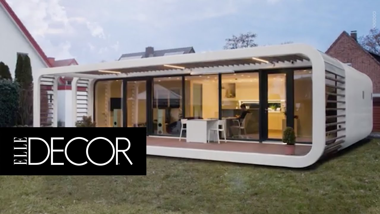 these sleek prefabs come with smart home features elle décor