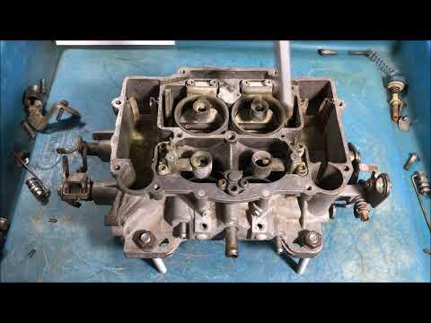 edelbrock carter carburetor rebuild PART 1 DISASSEMBLY and INFO