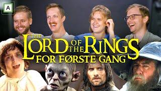 Ser Ringenes Herre for første gang