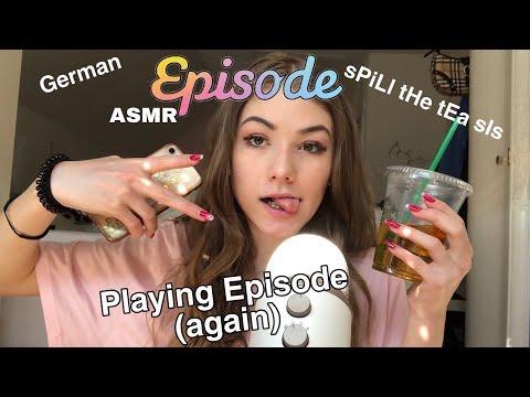 ASMR- Episode spielen Pt.2!- Close Whispers, Mouth Sounds.. (ASMR German/ Deutsch)