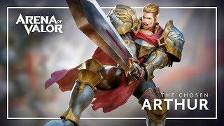 Arthur: Hero Spotlight   Gameplay - Arena of Valor