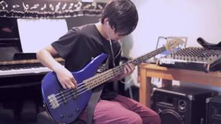 Sword Art Online Opening/Crossing Fields - LiSA|Bass Cover +TABS