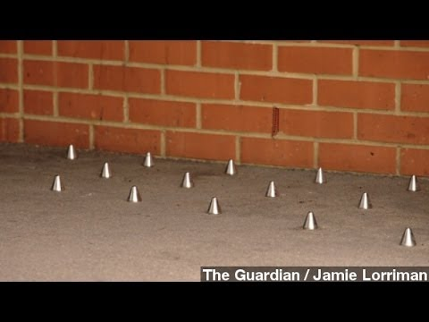 Critics Disgusted At 'Anti-Homeless' Spikes In London Alcove