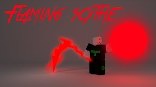 Roblox Script Showcase épisode #897/Flaming Scythe