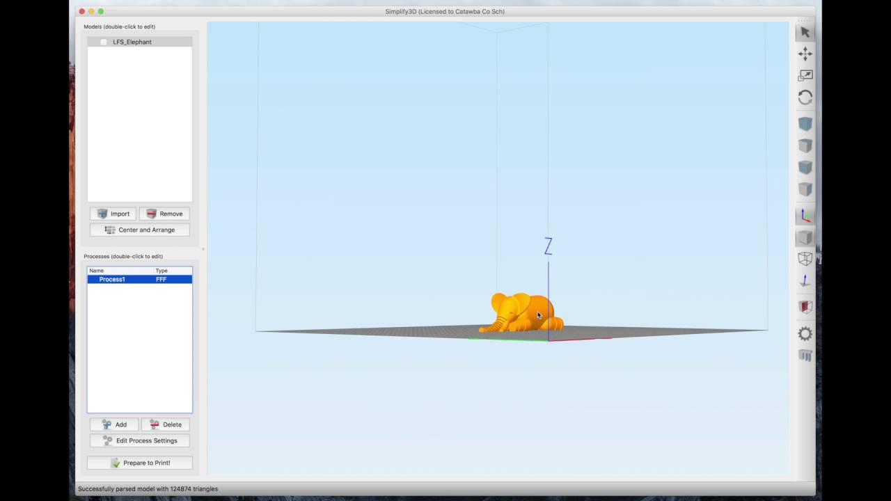 Using Simplify3D