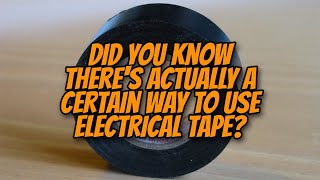 How do use electrical tape