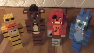 Lego Five Nights at Freddy's Freddy, Chica, Bonnie and Foxy