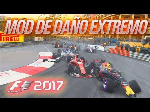"""UN VIEJO """"AMIGO"""" - MOD DE DAÑO EXTREMO EN F1 2017!!!!"""