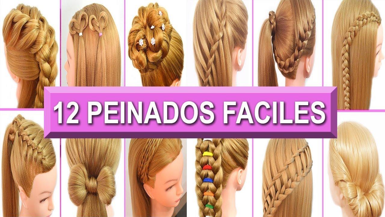 12 Peinados Faciles Rapidos Y Casuales Con Trenzas Para Cabello
