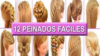 12 peinados faciles rapidos y casuales con trenzas para cabello largo