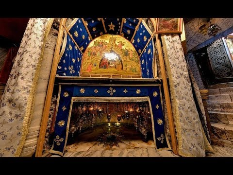 The place where Jesus was born. Church of the Nativity, Bethlehem. Tour Guide: George Saadeh