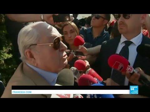 Front National : Jean-Marie Le Pen réclame la démission de sa fille Marine Le Pen