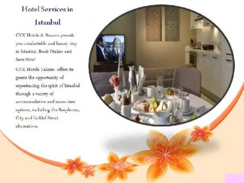 Luxury Stay In Istanbul  - Hotel Services in taksim