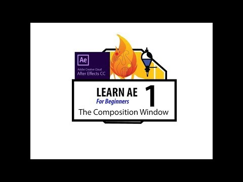 Learn After Effects for Beginners - Episode 1 - The Composition Window