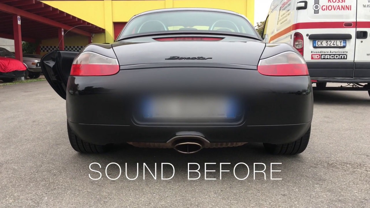 Fitting Porsche Boxster 986 New Exhaust In 10 Easy Steps