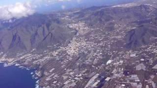 Despegue Tenerife Norte - Los Rodeos