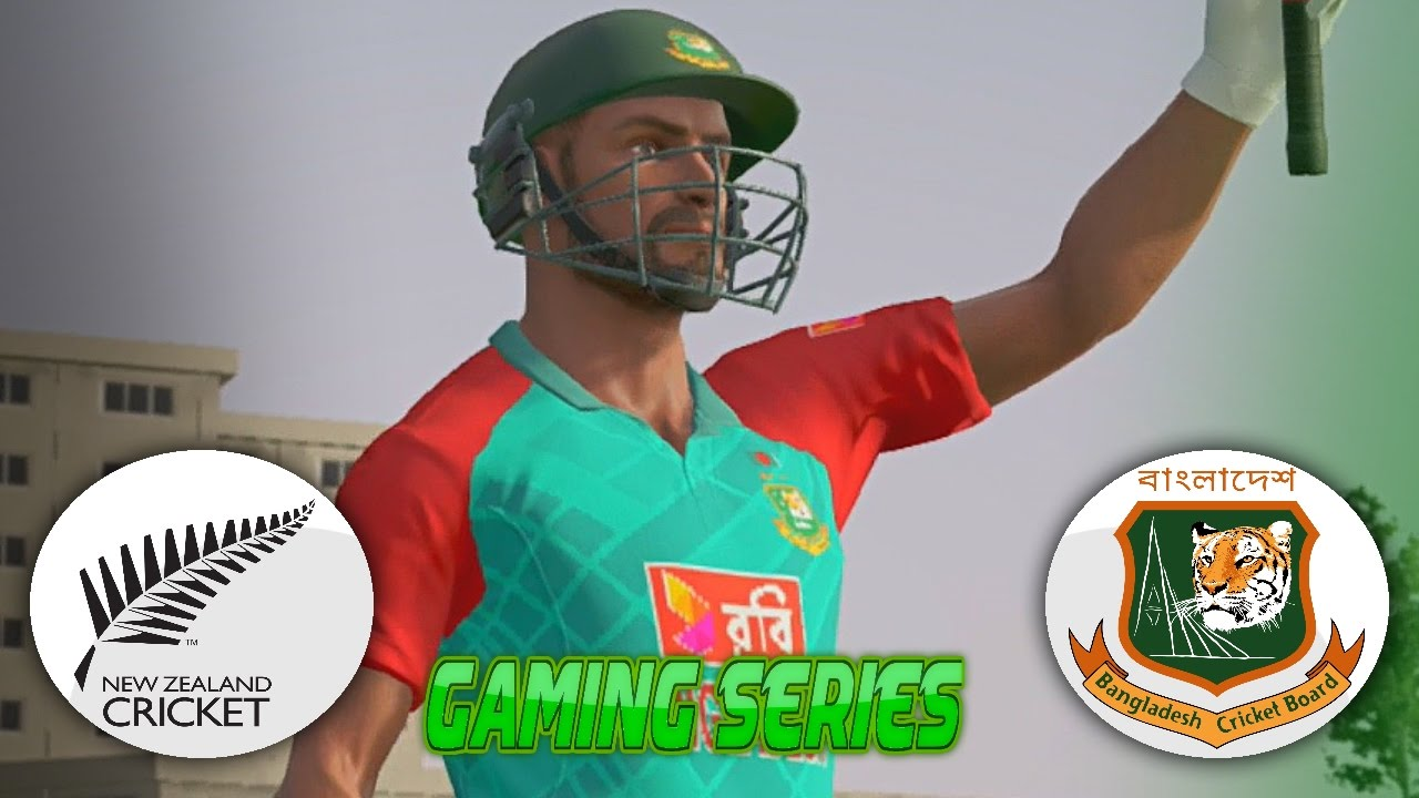 DON BRADMAN CRICKET 17 - BANGLADESH TOUR OF NEW ZEALAND 2016/17 - 2ND ODI