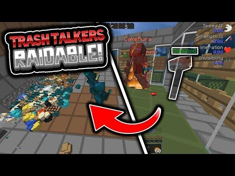 INVIS RAIDING TRASH TALKERS AFTER THEY AMBUSHED US AND KILLED EVERYONE!! **RAIDABLE** - VeltPvP [3]