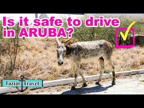 Driving In Aruba 🚗 | IS IT SAFE? | How Difficult Is It?