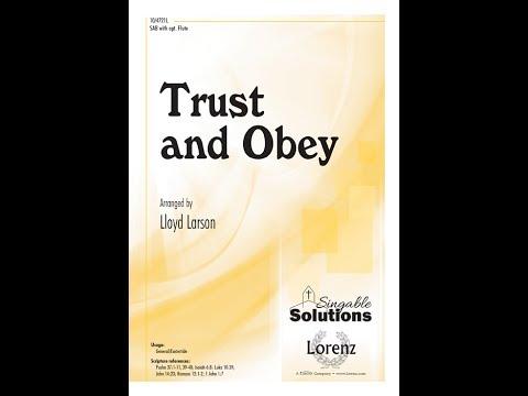 Trust and Obey - Lloyd Larson