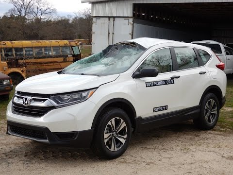 Parting out 2017 Honda CR-V IIHS Test Vehicle Stock # 170409 M & M Salvage Yard 1-800-533-4099