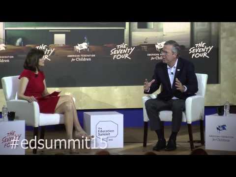 Education Summit 2015: Jeb Bush