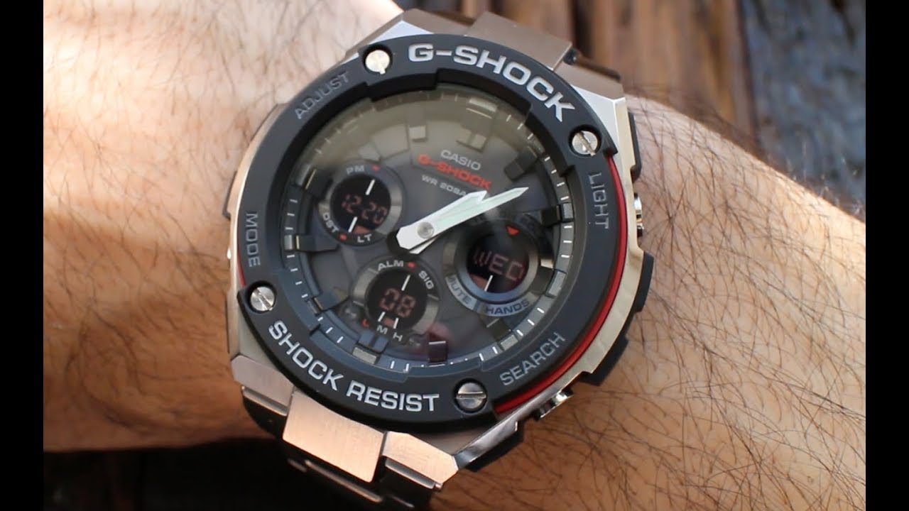 bf8ffed55ca The Best G-Shock Travel Watch  - GSTS100D Review - YouTube