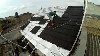 Video Wow Menakjubkan!! Hasil Renovasi Atap Rumah dengan Baja Ringan dan Genteng Metal di Tangerang download MP3, 3GP, MP4, WEBM, AVI, FLV Oktober 2018