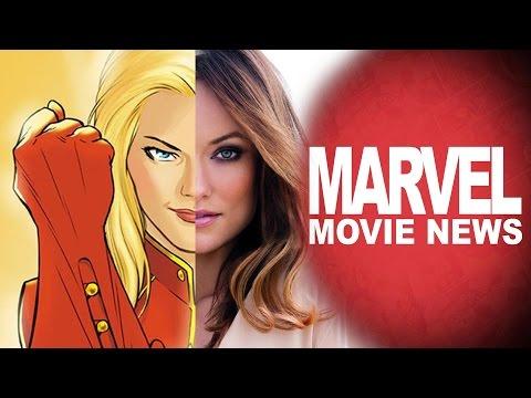Olivia Wilde Is Captain Marvel? Civil War Trailer & More - Marvel Movie News - Ep. 55