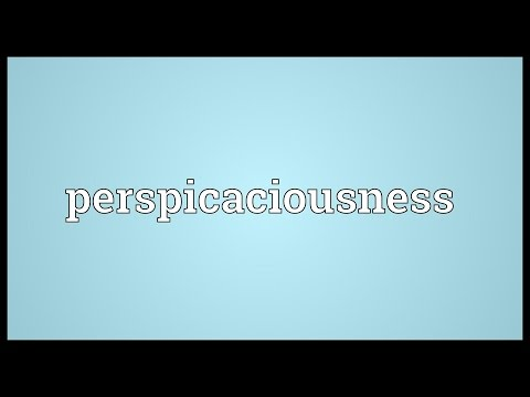 Header of perspicaciousness