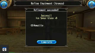 How to do refine +B +A +S (LUK VS TEC) -Toram Online
