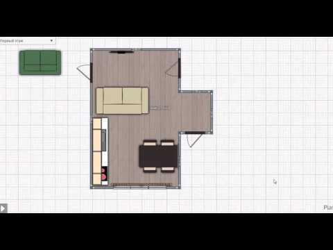 Совмещение коридора и кухни 2 вариант