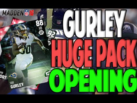 HUGE PACK OPENING FOR FOOTBALL OUTSIDERS | MADDEN 16 ULTIMATE TEAM PACK OPENING
