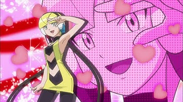 Pokémon Episoden S15 E02: Ein Brillanter Kampf in der Rayono City-Arena!